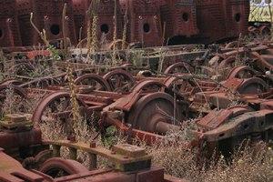 Old machinery, Newport railyards