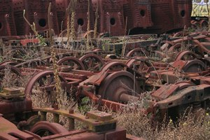 Old machinery, Newport railyards