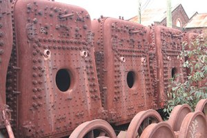 Surprised engines, Newport railyards