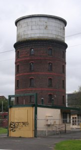 Water tower, Champion Road, Newport