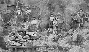 Nineteenth century quarry