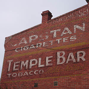 ghostsigns in Yarraville