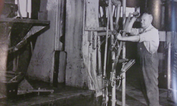 Bert Brown, foreman at the James Flood factory