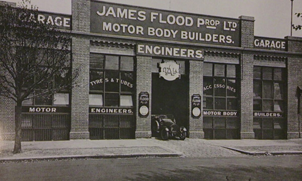 James Flood factory in St Kilda
