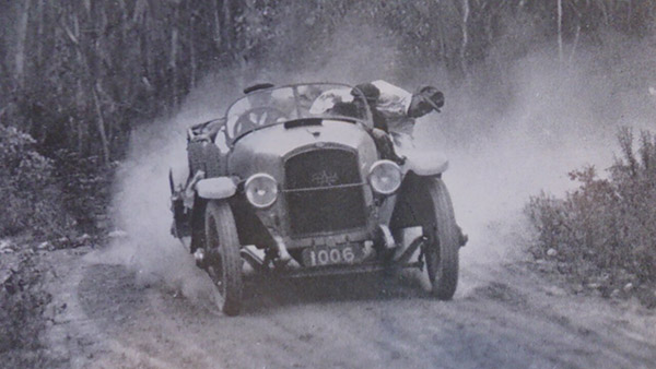 Itala in a rally