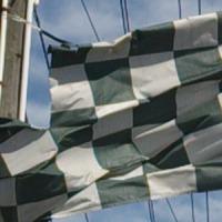 used car flag