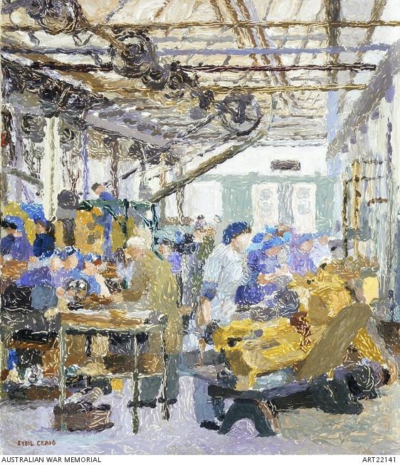 Sybil_Craig_ordnance_factory
