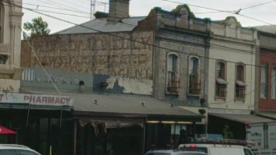 Victorian shops on Racecourse Road