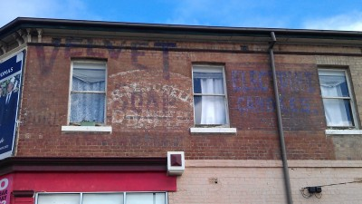 Ghostsigns of Velvet Soap and Electrine candles