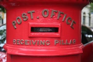 Letter box detail