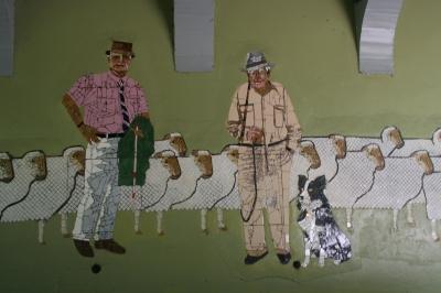 Saleyard mural