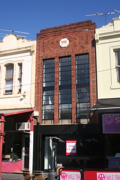 Deco building in Victoria Street