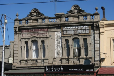Ghostsigns - Wertheim and The Age