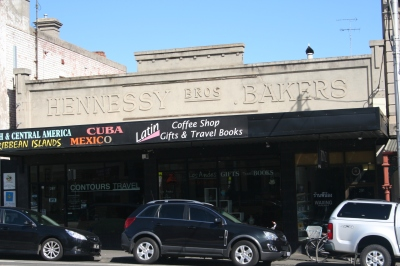 Hennessy Brothers ghostsign