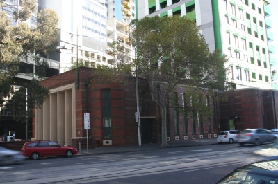 The Royal Melbourne Regiment Drill Hall