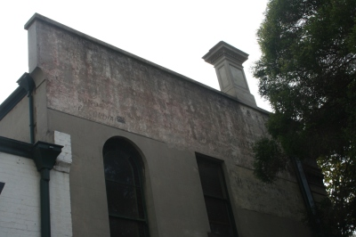 Horticultural Hall ghostsigns