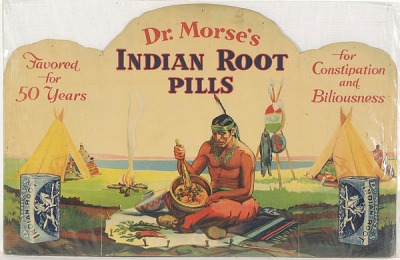 Dr Morse's Indian Root Pills label