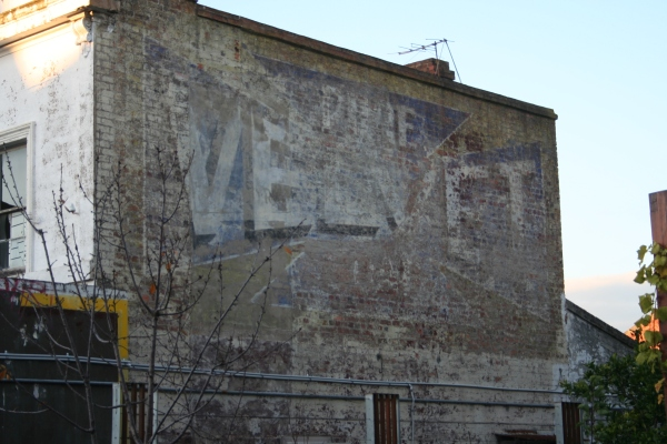 Velvet Soap ghostsign