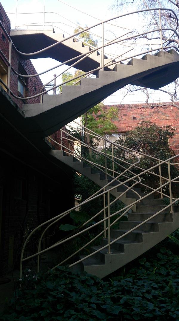 Staircase at Cairo flats