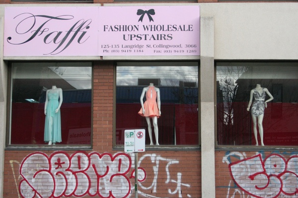 Mannequins on Langridge Street