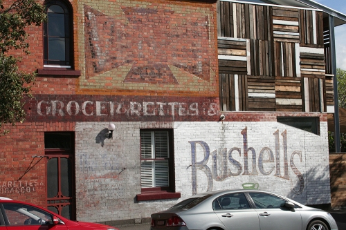 Park Street grocer ghostsigns
