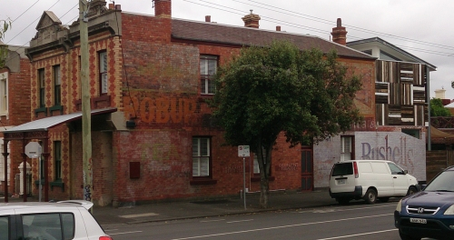 Grocer and ghostsigns on Park Street