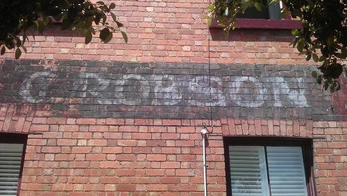 Robson grocer ghostsign