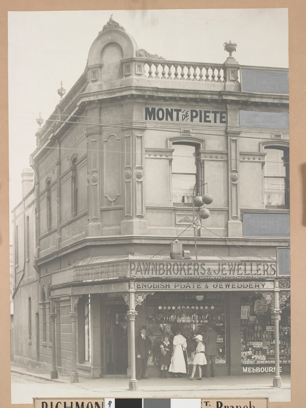 Monte de Piete Richmond Branch-vintage